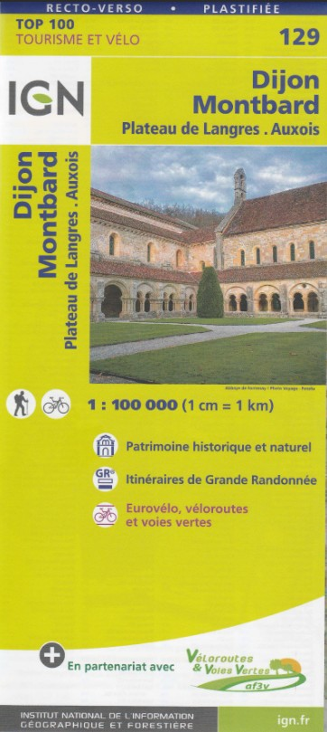 129 Best Best Gifts For 6 Year Girls Images On: Carte IGN TOP 129 Dijon, Montbard, Plateau De Langres, Auxois