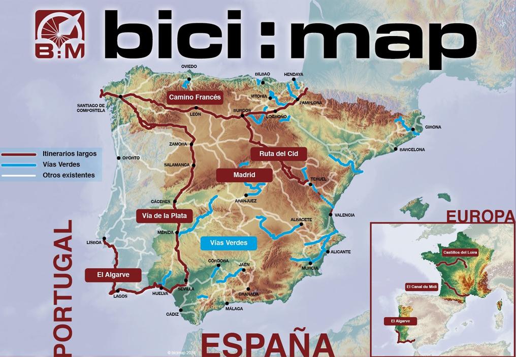 Carte Andalousie Ign.Cartovelo Espagne