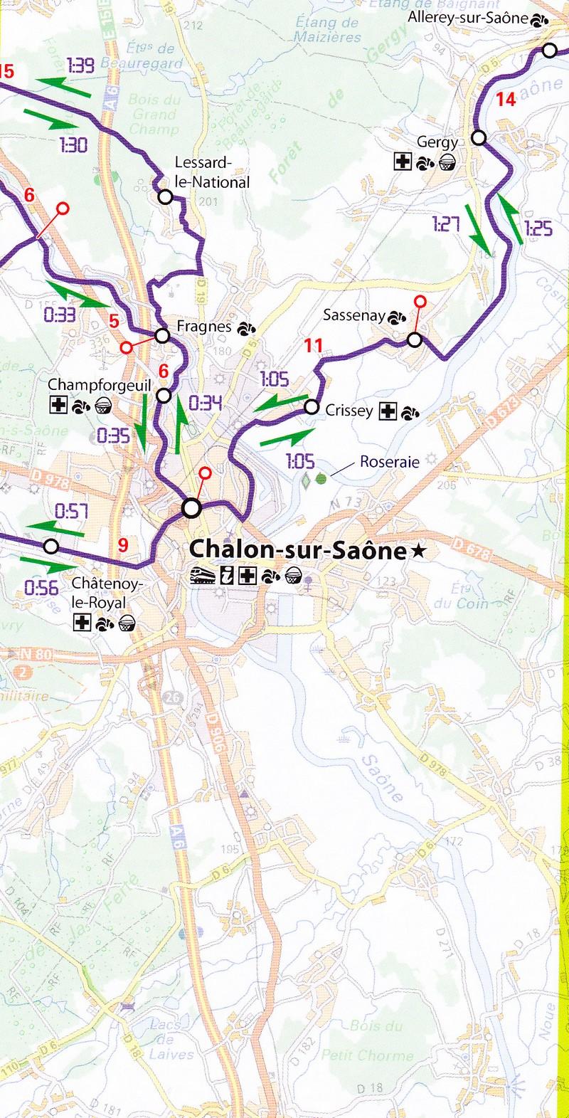 Carte Bourgogne Liberte.Velo A La Carte En Bourgogne Et Bresse