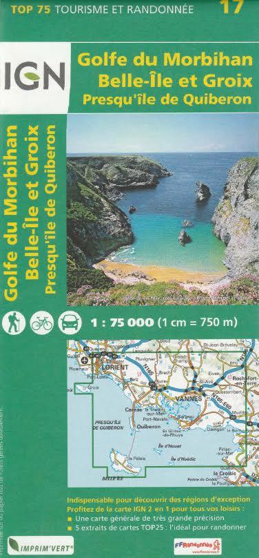 Carte Canada Ign.Carte Ign Golfe Du Morbihan